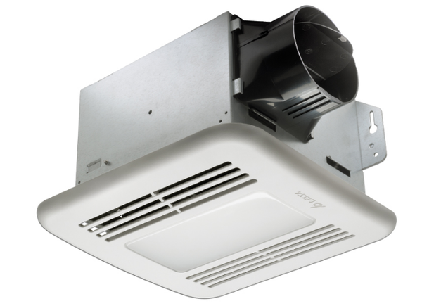 Delta Breez GBR100LED Green Builder 100 CFM Bathroom Exhaust Fan with LED Light