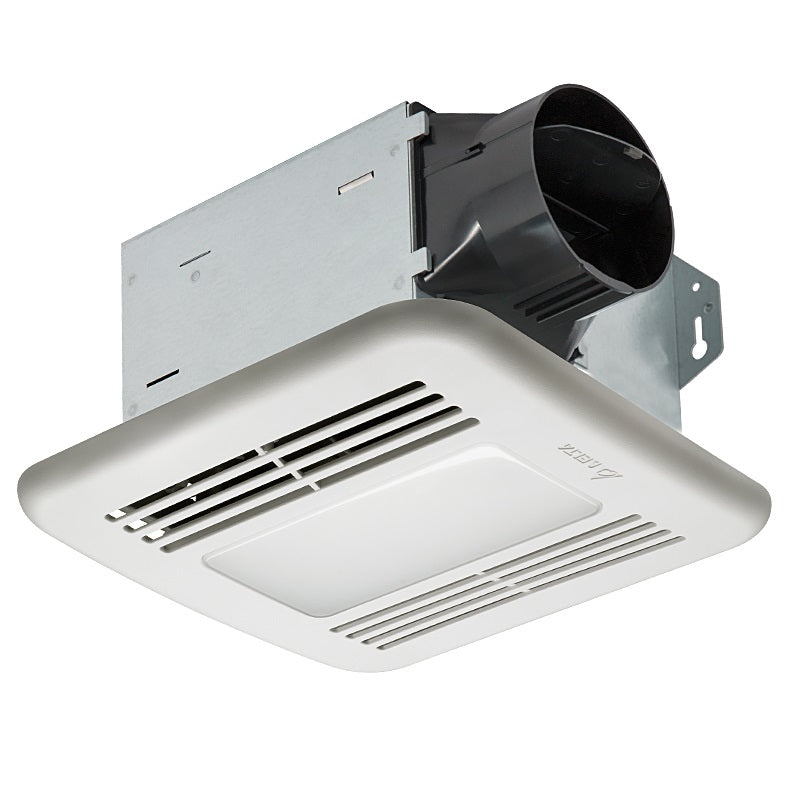 Delta Breez ITG80LED BreezIntegrity 80 CFM Bathroom Exhaust Fan/Dimmable LED Light