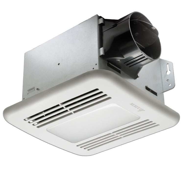 Delta Breez GBR100HLED BreezGreenBuilder Bathroom Exhaust Fan w/LED & Humidity Sensor, 100 CFM