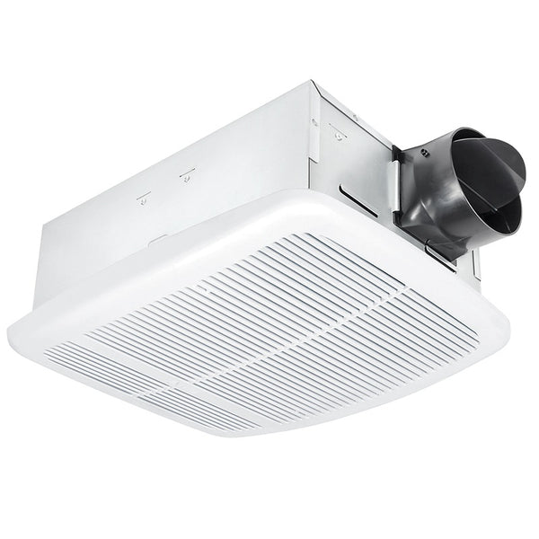 Delta Breez RAD80 BreezRadiance 80 CFM Bathroom Exhaust Fan with Heater