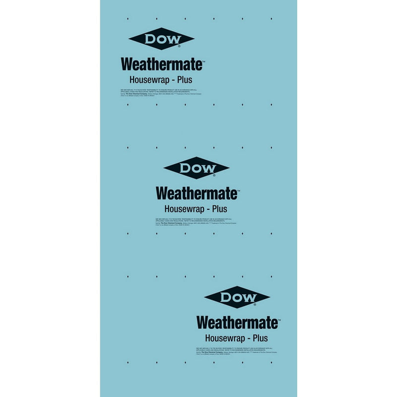 Dow Weathermate Plus 9' x 100' Housewrap, 1 Pallet (54 units)