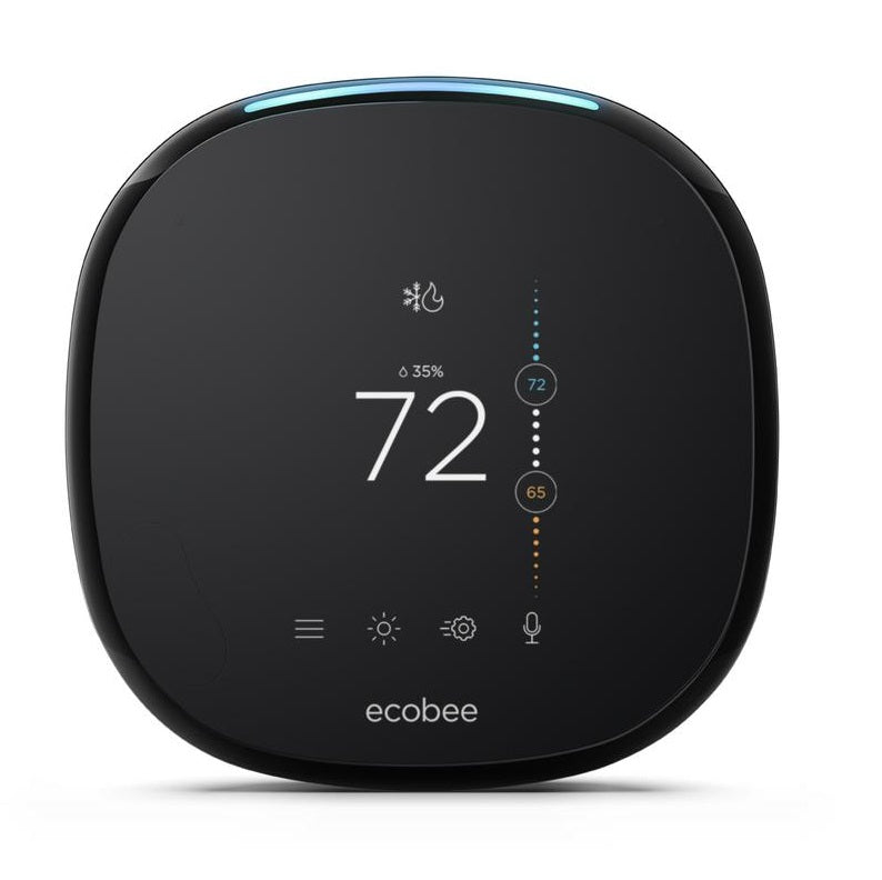 ecobee4 Smart Wi-Fi Thermostat, Remote Sensor x3 Bundle, Alexa-Enabled