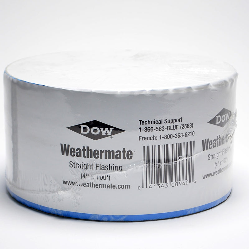"Dow Weathermate 4"" x 100' Straight Flashing Tape"