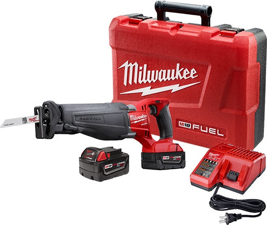 Milwaukee Tool FoamZall M18 Fuel SawZall Reciprocating Saw Kit - 2720-22