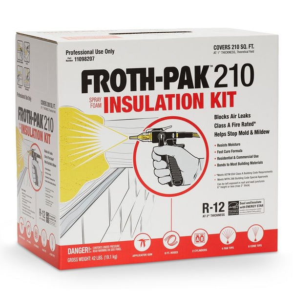 Dow Froth Pak 210 (1.75 PCF) Fire Rated Insulation Class A - 11098207