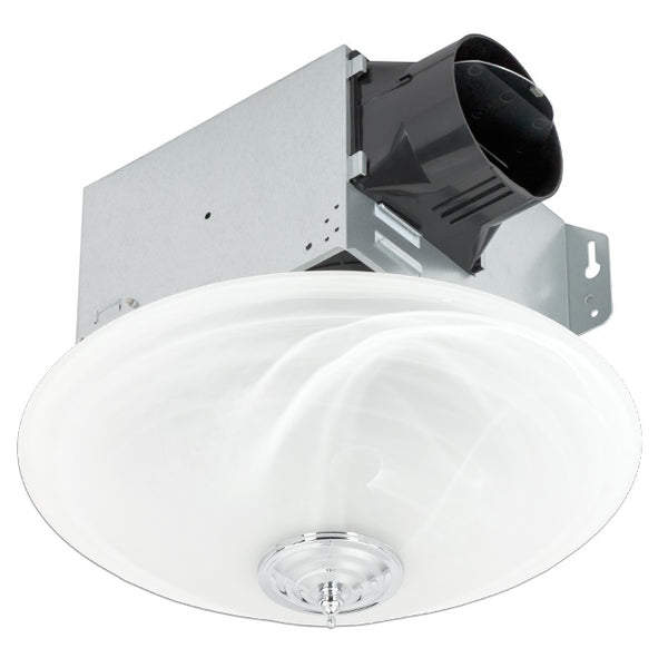 Delta Breez GBR100LED-DECOR GreenBuilder 100 CFM Bathroom Exhaust Fan with LED Lights