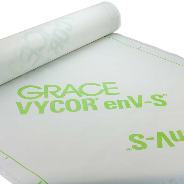 "Grace Vycor EnV-s Weather Resistive Barrier Sheet 40"" x 120' (400 Sq. Ft.)"