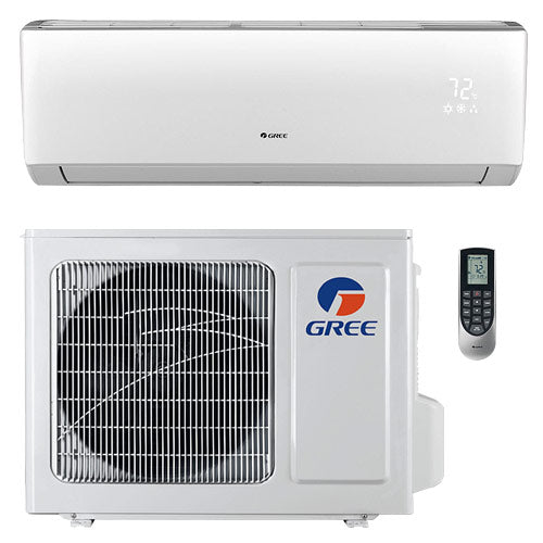 GREE Vireo 12k BTU Ductless Mini-Split Heat Pump System - 22 SEER 115V