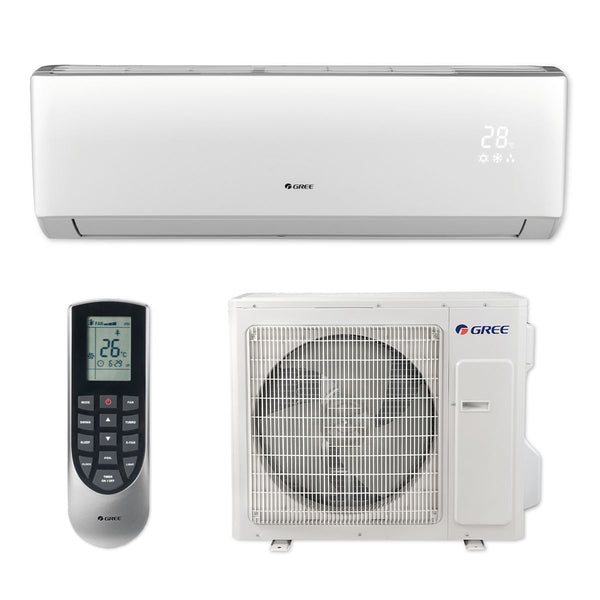 GREE Vireo 30k BTU Ductless Mini-Split Heat Pump System - 18 SEER 208/230V
