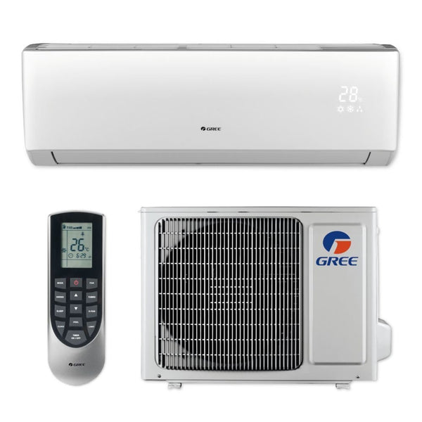 GREE Livo+ 9k BTU Ductless Mini-Split Heat Pump System - 16 SEER 115V