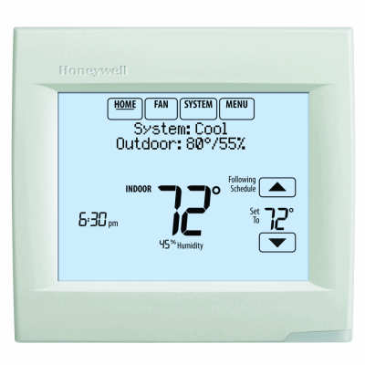 Honeywell TH8321WF1001 Wi-Fi VisionPRO 8000 Up to 3 Heat / 2 Cool.