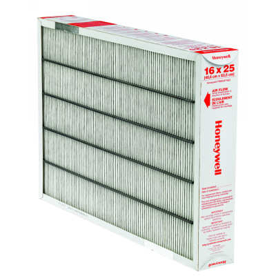 "Honeywell FR8000F1625 TrueCLEAN 16x25"" Furnace Filter for FH8000F1625, Pack of 5"