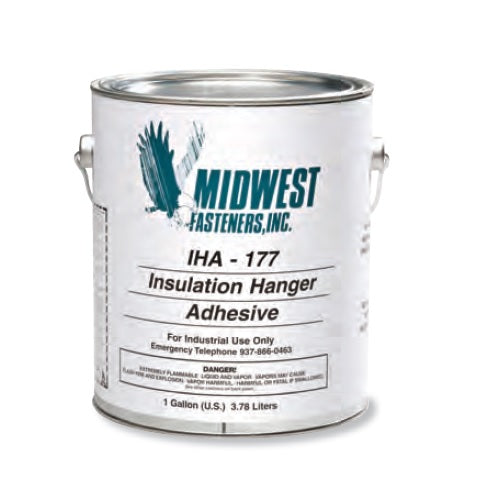 MIDWEST Fasteners Insulation Anchor Adhesive, 1 Gallon - IS101