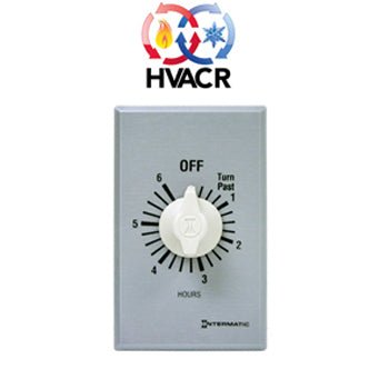 Intermatic FF Series Commercial Auto-Off Timer, SPST (6 Hours) - FF6H