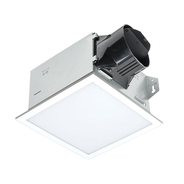Delta Breez ITG100ELED BreezIntegrity 100 CFM Bathroom Exhaust Fan/Edge-lit Dimmable LED Light