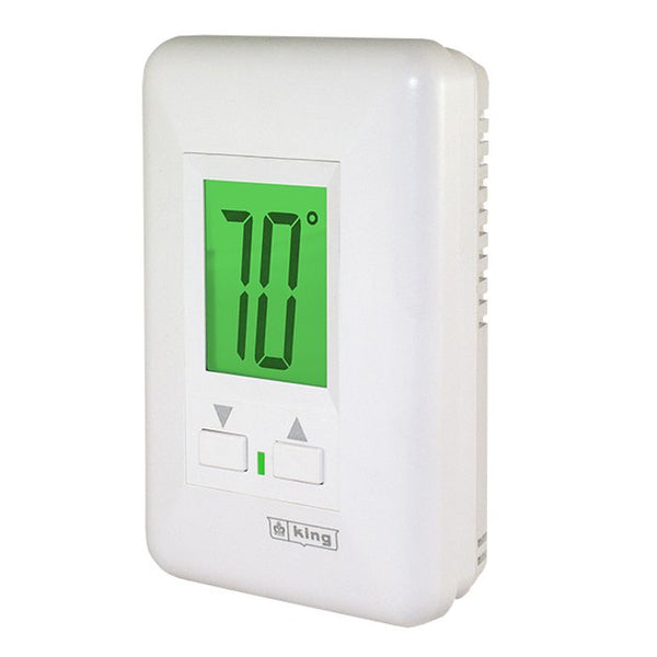 King HW120 Hydronic Thermostat 120V 2 Circuit Line Voltage 12.5 Amp