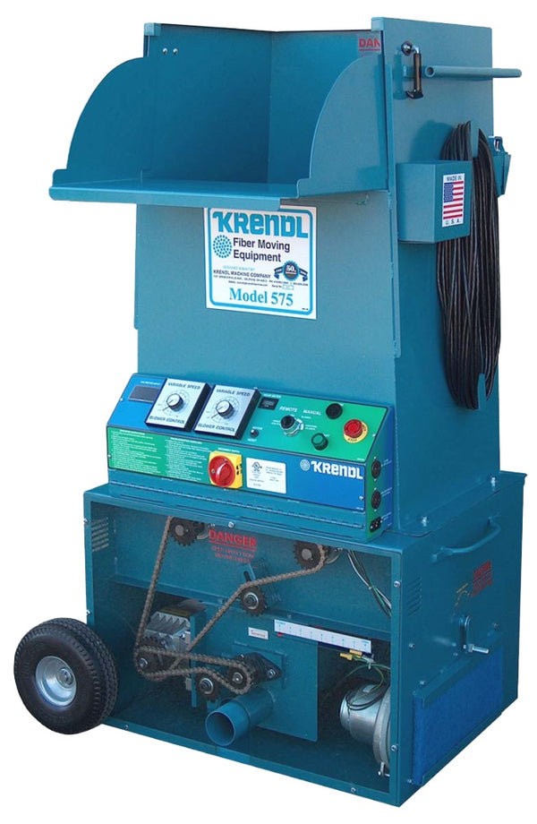 Krendl Insulation Machine, Model 575 Double Input - 575D