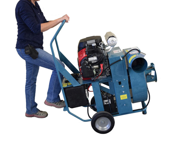 "Krendl Vacuum, 23 HP Krendl Belt Driven, 6"" inlet - 6"" Outlet - GV230"