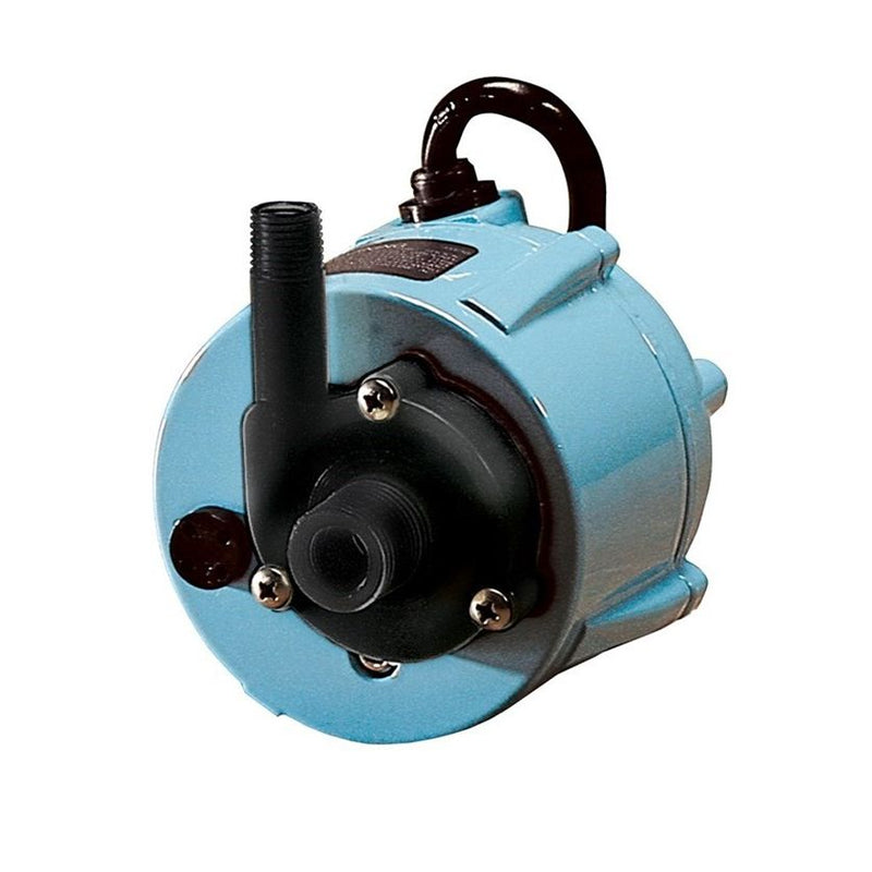 Little Giant 1-42AT Oil-filled, Direct Drive Submersible or In-line Use Dual-Purpose Pump, 115V 10 Ft 60Hz