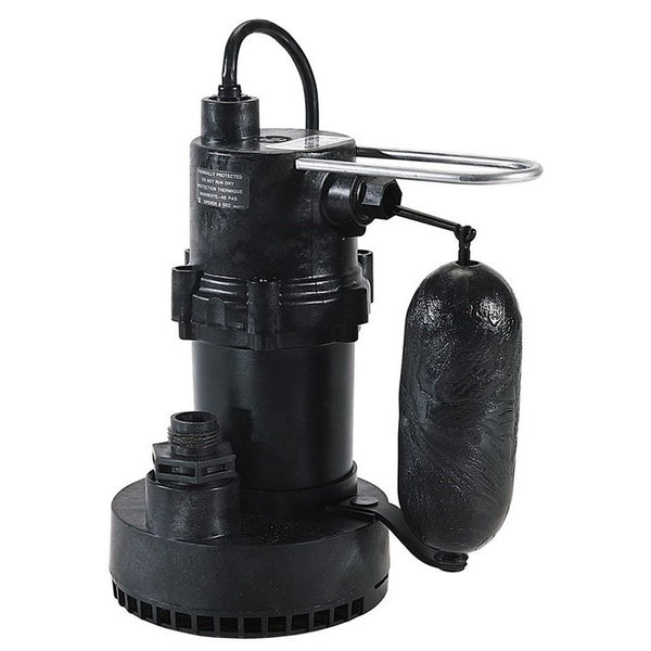 Little Giant 5.5-ASP 1/4HP Sump Pump, 115V 10 Ft 60Hz