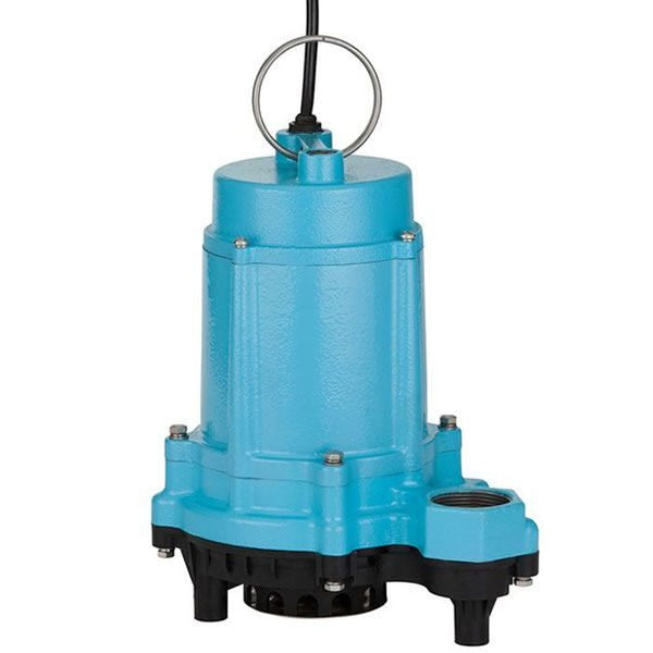 Little Giant 6EC-CIM 1/3HP Sump Pump, 115V 10Ft 60Hz, Polypropylene Base