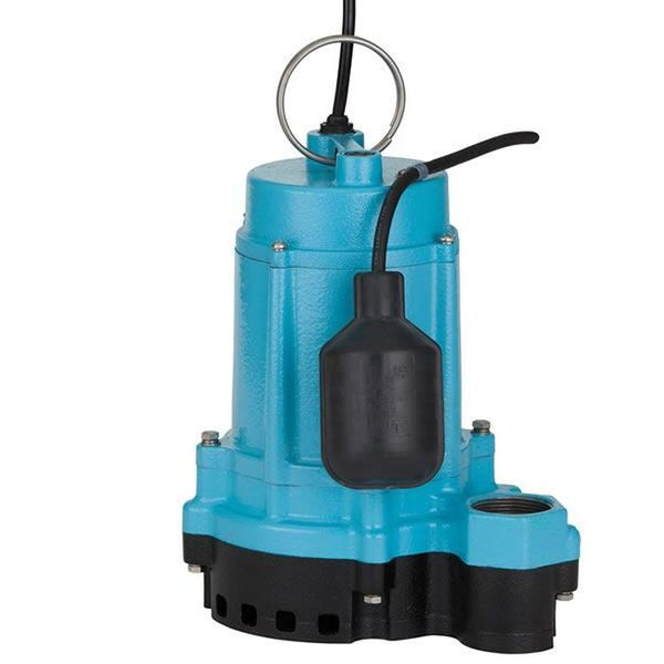 Little Giant 6EC-CIA-RF 1/3HP Sump Pump, 115V 20Ft 60Hz, Cast Iron Base