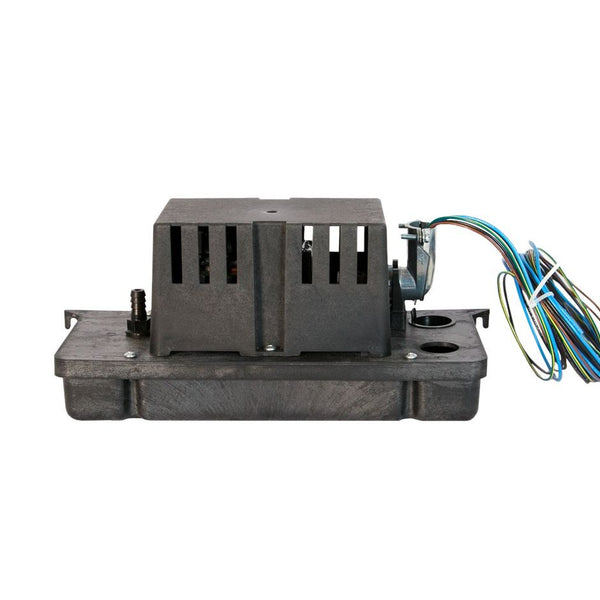 Little Giant VCC-20-P Low Profile Condensate Pump for Plenum Use 230V, 1/3 Gallon ABS Tank