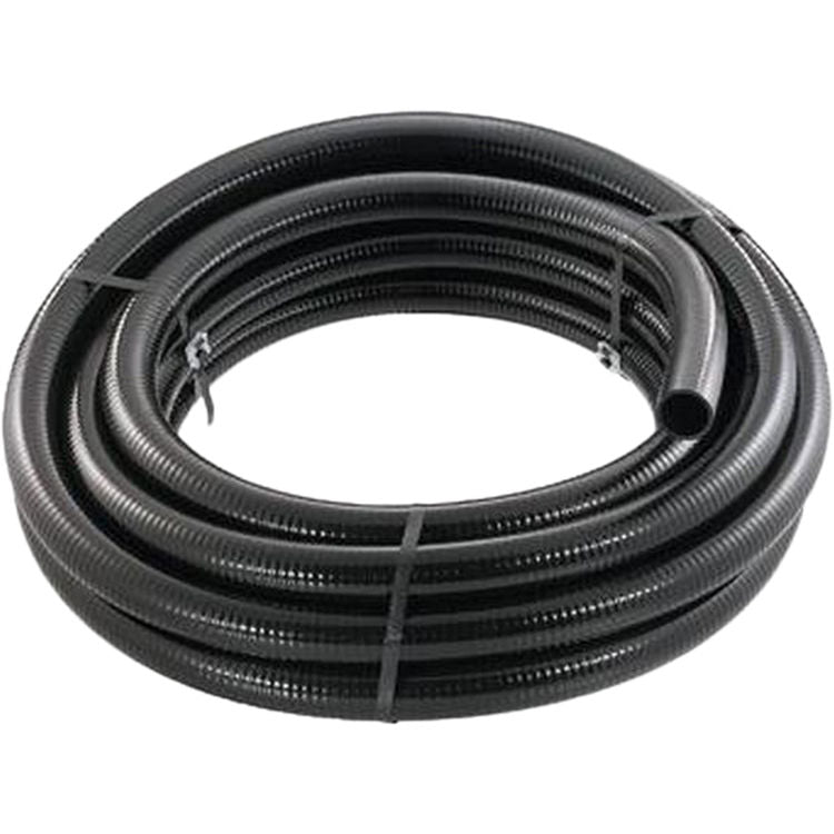 "Little Giant Flexible PVC Black 2"" x 50', Use with Sch 40 Fittings"