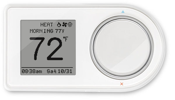 LuxPro GEO-WH Wi-fi Programmable Thermostat, White