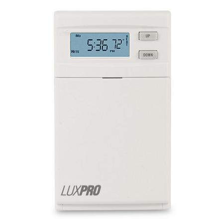 LuxPro Programmable Line Voltage Heat Thermostat - PSPLV512 (case/5)