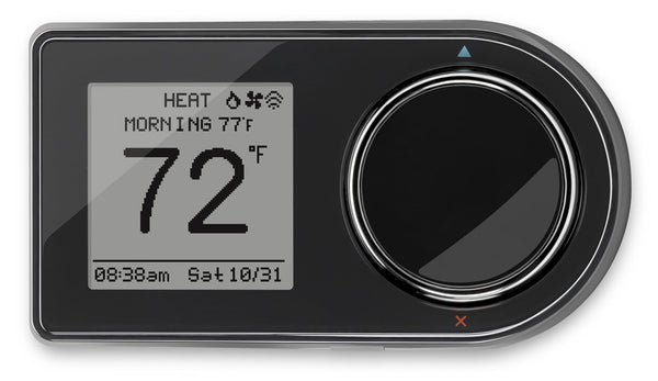 LuxPro GEO-BL 7-Day Wi-Fi Programmable Thermostat, Black