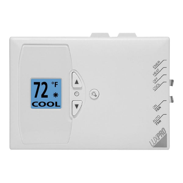 LuxPro Digital Non-Programmable Heat Pump Thermostat-PSDH121 (case/10)