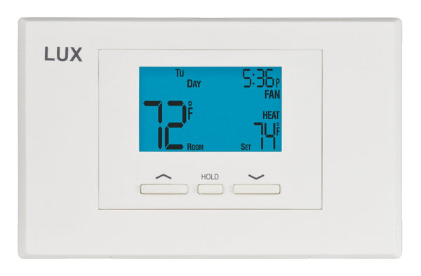 LuxPro 5/2-Day Programmable/Non-Programmable Thermostat - P521U (case/10)