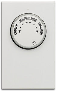 LuxPro EasyTemp Mechanical Baseboard Heat Thermostat - LV21