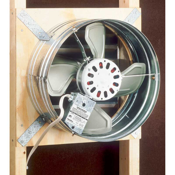 Broan NuTone 353 Attic Ventilator, Gable Mount, 1020or760 CFM Depending on Installation