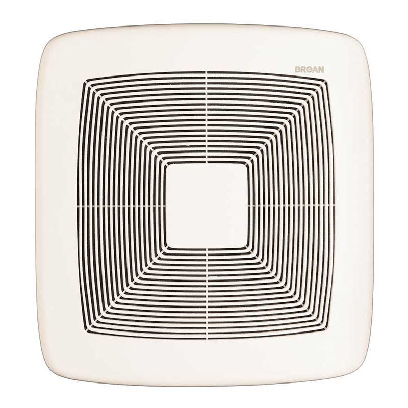Broan NuTone QTXE110 Very Quiet Bath Fan White Grille 110 CFM