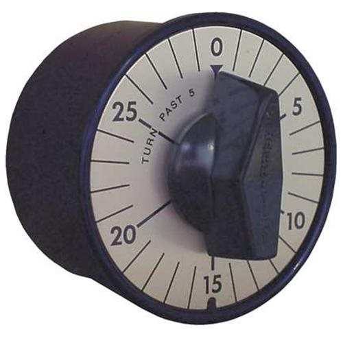 Marktime Heavy Duty Panel Mount Timer 30 Minutes 74702 Case of 6