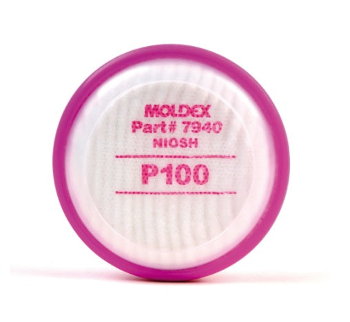 Moldex P100 Particulate Filter Disk, 1 pair per bag