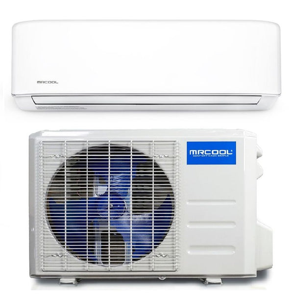MRCOOL Advantage 3rd Gen 9k BTU Ductless Mini Split Air Conditioner and Heat Pump 230V 18 SEER