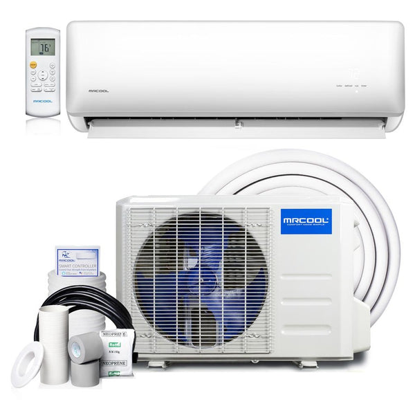 MrCool Olympus 3/4 Ton 9k BTU ENERGY STAR Ductless Mini-Split Air Conditioner and Heat Pump, 230V/60Hz