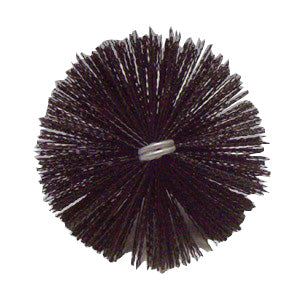 Nikro 860213 8 Inch Round Nylon Duct Brush