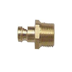 "Nikro 860767 1/8"" NPT Thread, Male Dual Action Plug (for nozzles)"