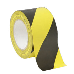 "Nikro 860829 Black & Yellow Safety Tape 3"" x 60yds (per roll)"