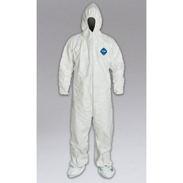 Nikro Tyvek XXL Coveralls With Hood & Boots (Case of 25)