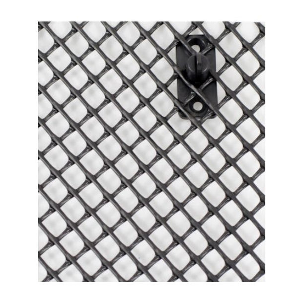 "Permatron HailStop10 Hail Guard Netting Kit for Equipment Up to 10 Ton, 54"" x 10'"
