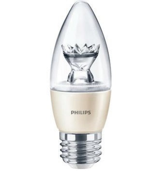 Philips 4.5B12/LED/827-22/E26/DIM Torpedo Bulb - 457192