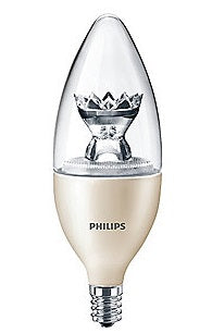 Philips Decorative Candle LED Light Bulb w/ Warm Glow Effect - 457234