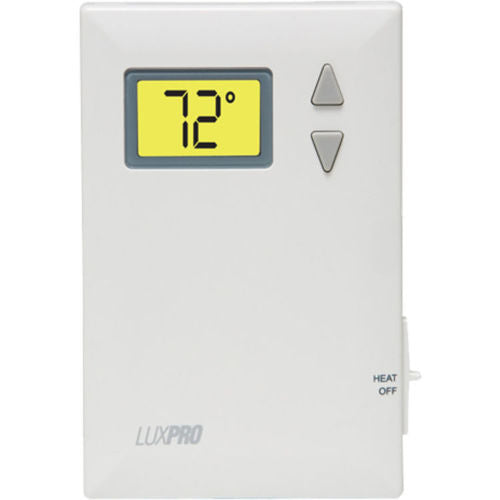 LuxPro Digital 2 Wire Heat Only Thermostat - PSD010B