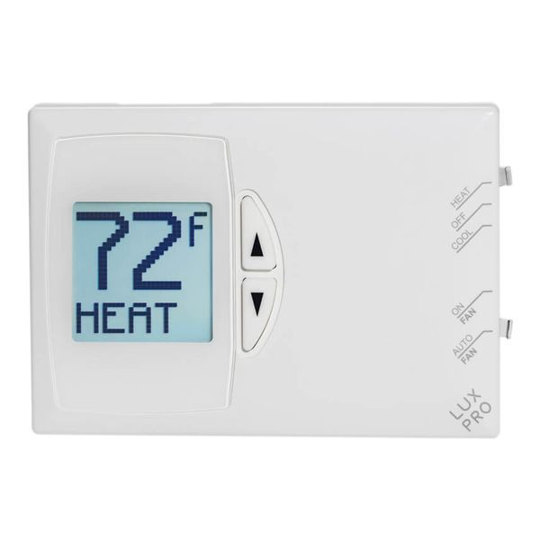 LuxPro PSD111+ Digital Non-Programmable Thermostat