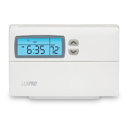 LuxPro 5 And 2 Programming Thermostat - PSP511LC